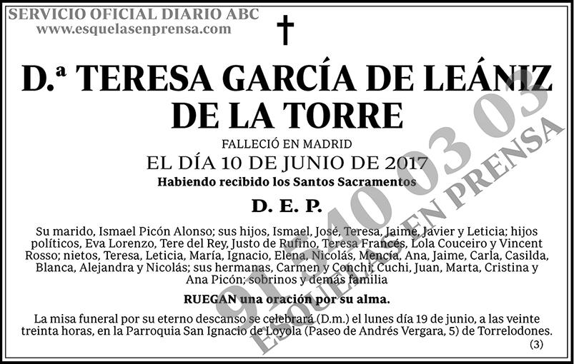Teresa García de Leániz de la Torre